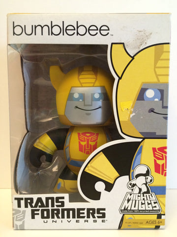 (TAS030012) - 2008 Hasbro Mighty Muggs Transformers Bumblebee, , Action Figure, Transformers, The Angry Spider Vintage Toys & Collectibles Store  - 1