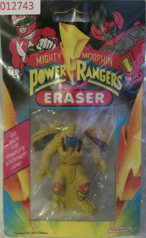 (TAS031477) - 1993 Mighty Morphin Power Rangers Eraser, , Eraser, Power Rangers, The Angry Spider Vintage Toys & Collectibles Store