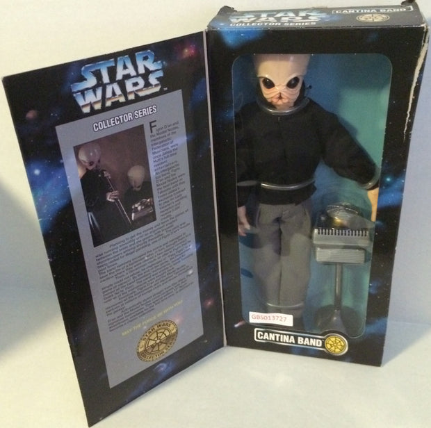 (TAS031480) - Star Wars Collector Series Figure - Cantina Band, , Game, Star Wars, The Angry Spider Vintage Toys & Collectibles Store