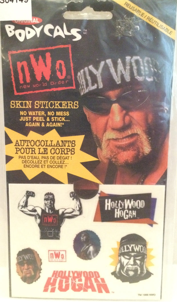 (TAS031964) - 1999 Bodycals WCW nWo BodyCals Skin Stickers - Hulk Hogan, , Stickers, Wrestling, The Angry Spider Vintage Toys & Collectibles Store