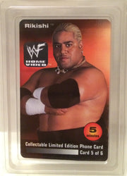 (TAS032052) - WWE WWF WCW Wrestling Calling Card - Rikishi, , Other, Wrestling, The Angry Spider Vintage Toys & Collectibles Store