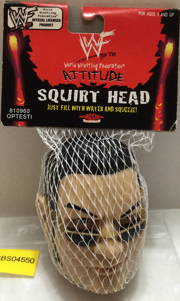 (TAS031200) - WWE WWF WCW Wrestling Attitude Squirt Head - The Rock, , Other, Wrestling, The Angry Spider Vintage Toys & Collectibles Store