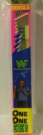 (TAS031489) - WWF WWE WCW nWo Wrestling Dentax Kids Toothbrush - Big Boss Man, , Bath, Wrestling, The Angry Spider Vintage Toys & Collectibles Store