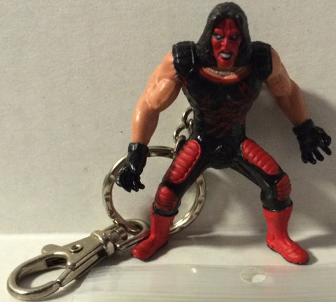 (TAS032089) - Toy Biz WWE WCW Wrestling Action Figure Keychain - Sting, , Keychain, Wrestling, The Angry Spider Vintage Toys & Collectibles Store