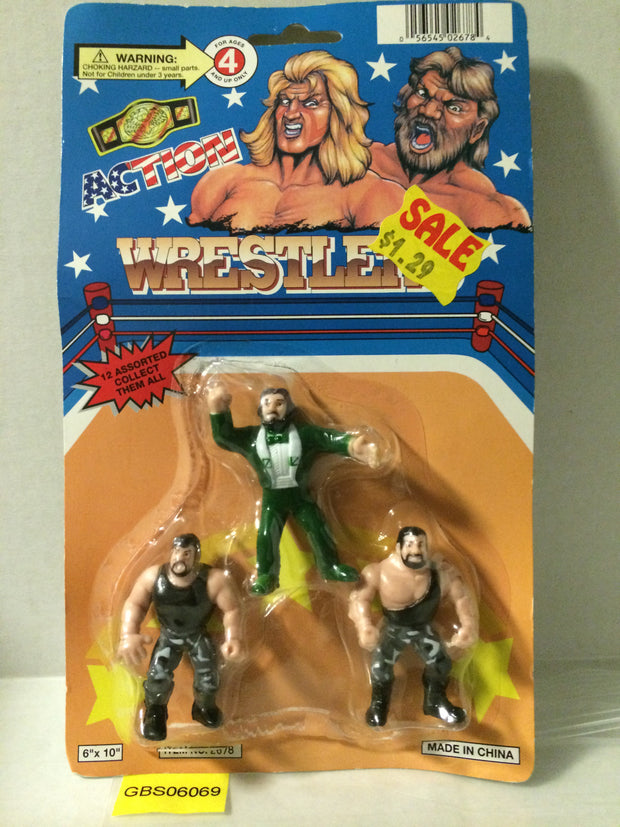 (TAS030527) - Action WWF WWE WCW Wrestling Action Figures - Generic Legends, , Action Figure, WWF / WWE, The Angry Spider Vintage Toys & Collectibles Store
