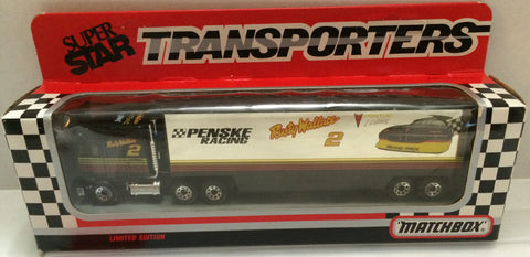 (TAS032062) - Matchbox Nascar SuperStar Transporter Penske - Rusty Wallace #2, , Trucks & Cars, NASCAR, The Angry Spider Vintage Toys & Collectibles Store