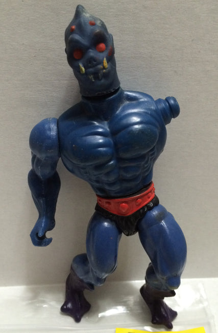 TAS037325 - Vintage Action Figure - MOTU Webstor 1984 (Missing Arm)