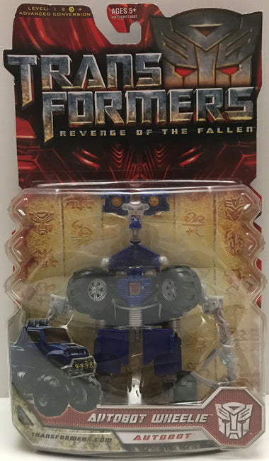 TAS037816 - 2008 Hasbro Transformers Revenge Of The Fallen - Autobot Wheelie