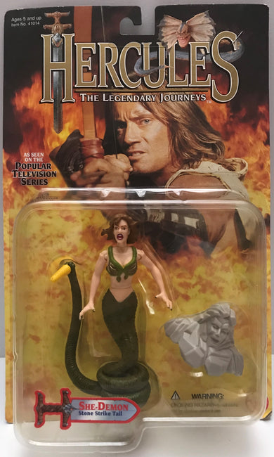 TAS037825 - 1996 Toy Biz Hercules The Legendary Journeys - She-Demon