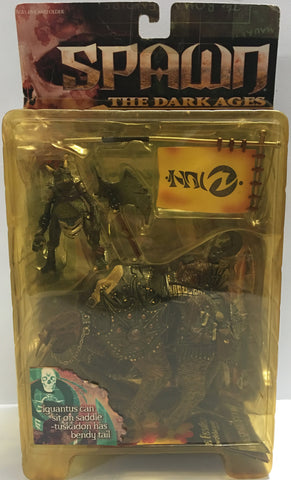 (TAS032357) - 1999 McFarlane Toys Spawn - The Dark Ages - Iguantus & Tuskadon, , Action Figure, McFarlane, The Angry Spider Vintage Toys & Collectibles Store  - 1