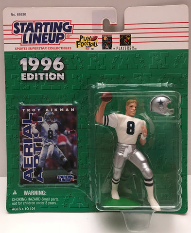 TAS037831 - 1996 Kenner Starting Lineup NFL Dallas Cowboys - Troy Aikman