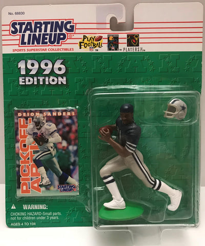 TAS037832 - 1996 Kenner Starting Lineup NFL Dallas Cowboys - Deion Sanders