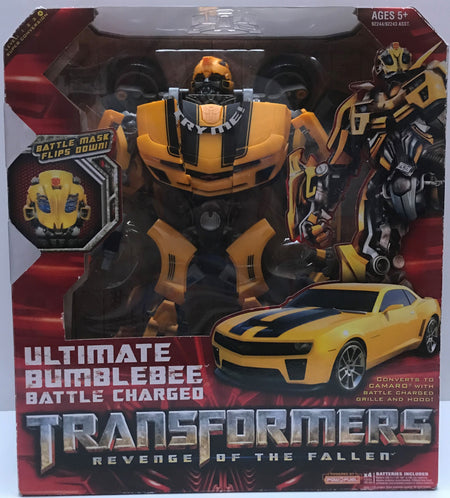 TAS037854 - 2008 Hasbro Transformers Ultimate BubleBee Battle Charged
