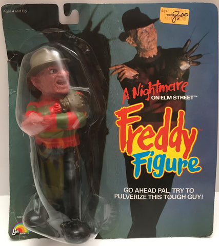TAS037859 - 1989 LJN Toys A Nightmare On Elm Street Freddy Figure