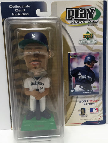 (TAS034718) - 2001 Upper Deck Company Play Makers MLB Edition - Seattle - Ichiro, , Action Figure, MLB, The Angry Spider Vintage Toys & Collectibles Store  - 1