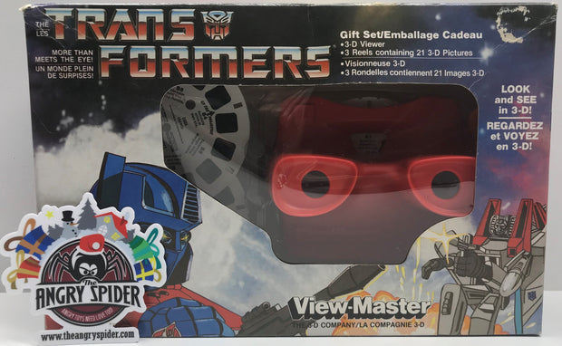 TAS001207 - 1985 Hasbro View-Master - The Transformers Gift Set