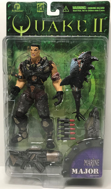 TAS040216 - 1998 ReSaurus Quake II Action Figure - Marine Major QK125010