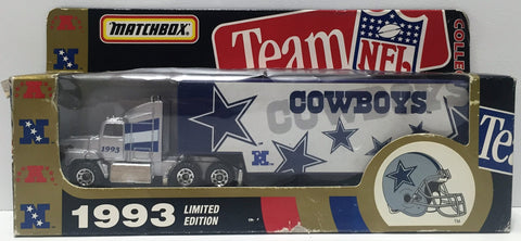 (TAS034825) - 1993 Tyco Matchbox Team NFL Collectible Die-Cast - Dallas Cowboys, , Trucks & Cars, NFL, The Angry Spider Vintage Toys & Collectibles Store  - 1