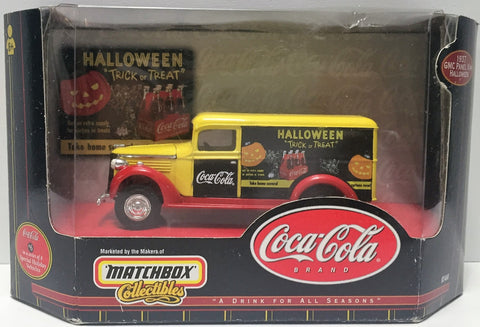 (TAS034741) - 1999 Mattel Matchbox Collectible Coca-Cola Brand '37 GMC Panel Van, , Trucks & Cars, Matchbox, The Angry Spider Vintage Toys & Collectibles Store  - 1
