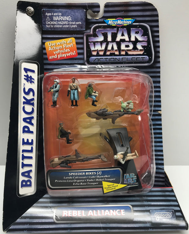 TAS001189 - Galoob Micro Machines Star Wars Action Fleet Rebel Alliance