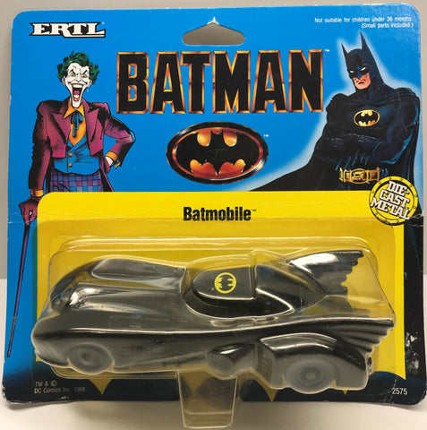 TAS001197 - 1989 ERTL Batman Die-Cast Batmobile