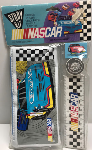 TAS001199 - Nascar Study Kit (Ruler Pencil Pouch Eraser)
