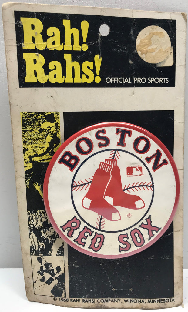 TAS001201 - 1968 Rah! Rahs! Offical MLB Boston Red Sox Button