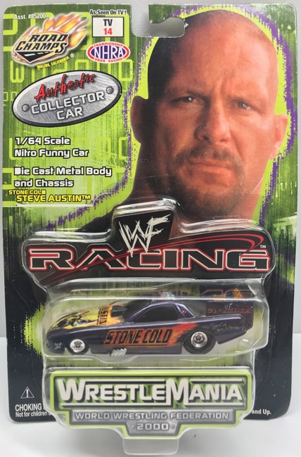TAS038030 - 2000 Road Champs WWF Die-Cast Racing - Stone Cold Steve Austin