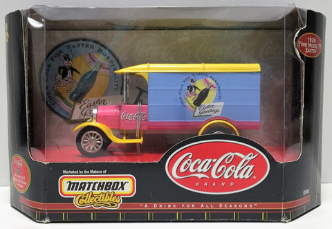 (TAS034852) - 1999 Mattel Matchbox Coco-Cola Brand - '62 Ford Model TT Easter, , Trucks & Cars, Matchbox, The Angry Spider Vintage Toys & Collectibles Store  - 1