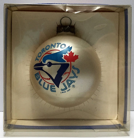(TAS034851) - Topperscot NFL Sports Collectors Series Glass Ornament - Blue Jays, , Ornament, NFL, The Angry Spider Vintage Toys & Collectibles Store  - 1