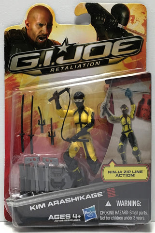 (TAS034849) - 2012 Hasbro G.I. Joe Retaliation Action Figure - Kim Arashikage, , Action Figure, G.I. Joe, The Angry Spider Vintage Toys & Collectibles Store  - 1
