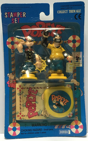 (TAS034833) - 1997 King Features Syndicate Collectible Popeye Stamp Set, , Stampers, King Features Syndicate, The Angry Spider Vintage Toys & Collectibles Store  - 1