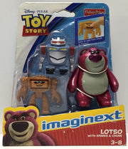 (TAS034855) - 2011 Mattel Disney Toy Story - Lotso with Sparks & Chunk, , Action Figure, Disney, The Angry Spider Vintage Toys & Collectibles Store  - 1