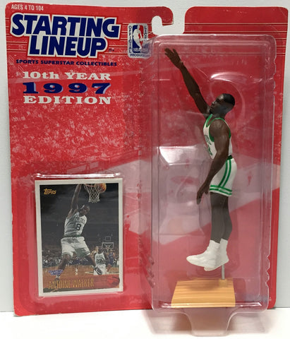 (TAS034846) - 1997 Kenner Starting Lineup NBA Action Figure - Antoine Walker, , Action Figure, Starting Lineup, The Angry Spider Vintage Toys & Collectibles Store  - 1