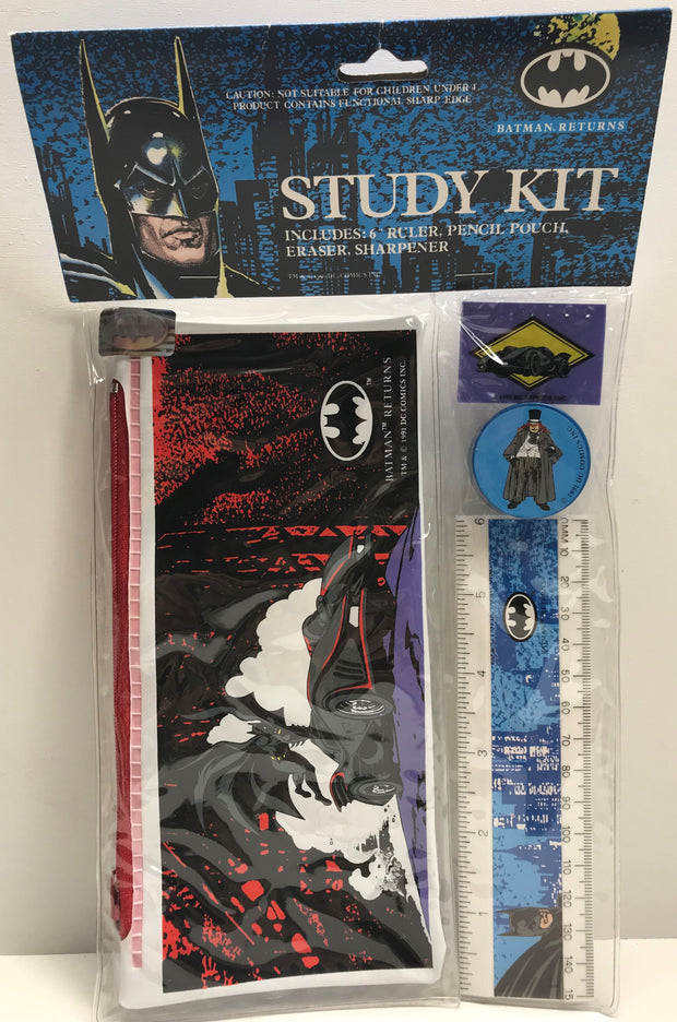TAS038047 - 1991 DC Comics Batman Returns Pencil Study Kit