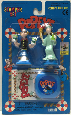 (TAS034834) - 1997 King Features Syndicate Collectible Popeye Stamp Set, , Stampers, King Features Syndicate, The Angry Spider Vintage Toys & Collectibles Store  - 1