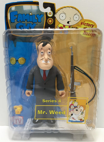 (TAS034867) - 2005 Mezco Toys Family Guy Series 4 Action Figure - Mr. Weed, , Action Figure, Mezo, The Angry Spider Vintage Toys & Collectibles Store  - 1
