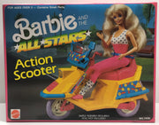 TAS038049 - 1989 Mattel Barbie All Stars Action Scooter