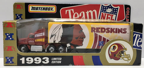 (TAS034858) - 1993 Tyco Toys Matchbox Limited Edition NFL Redskins Collectible, , Trucks & Cars, Matchbox, The Angry Spider Vintage Toys & Collectibles Store  - 1
