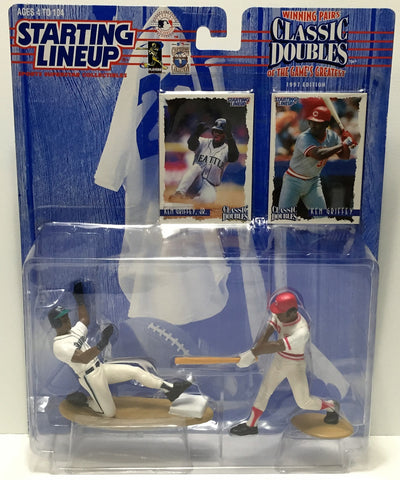 (TAS034864) - 1997 Kenner Starting Lineup Doubles Ken Griffey & Ken Griffey Jr, , Action Figure, Starting Lineup, The Angry Spider Vintage Toys & Collectibles Store  - 1