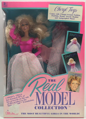 TAS038051 - 1989 Matchbox The Real Model Collection Cheryl Tiegs