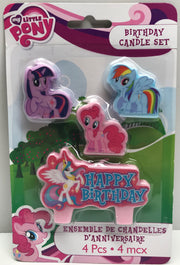 TAS038058 - 2013 Hasbro My Little Pony Friendship Birthday Candle Set