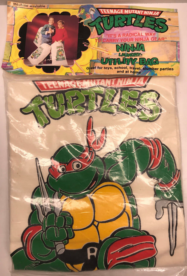 TAS038063 - 1989 Mirage Studios Teenage Mutant Ninja Turtles Laundry Utility Bag