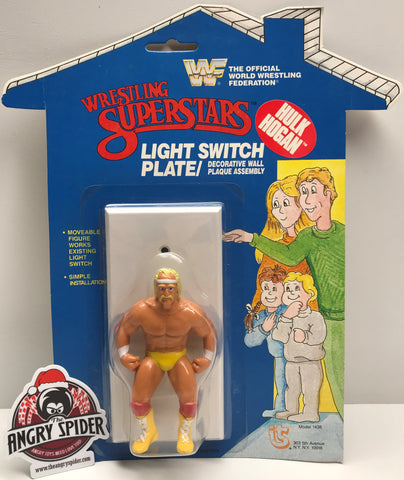 TAS037843 - 1985 Titan Sports WWF Wrestling SuperStars Light Switch Plate - Hulk
