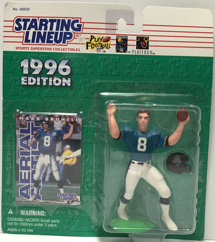 (TAS034785) - 1996 Hasbro Starting Lineup Figure - NFL Football Mark Brunell, , Action Figure, Starting Lineup, The Angry Spider Vintage Toys & Collectibles Store  - 1