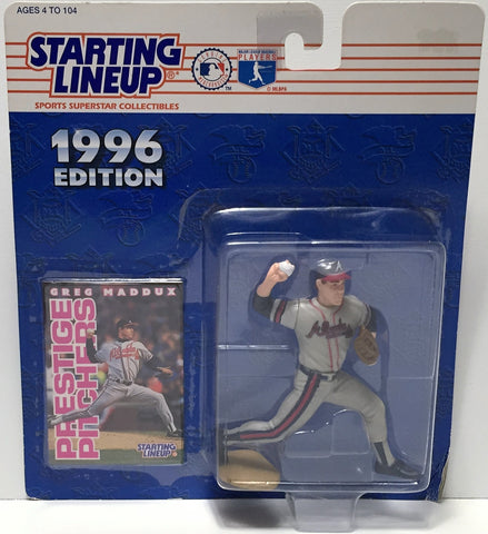 (TAS034790) - 1996 Hasbro Starting Lineup Figure - MLB Baseball Greg Maddux, , Action Figure, Starting Lineup, The Angry Spider Vintage Toys & Collectibles Store  - 1