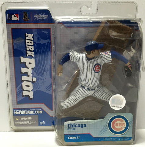 (TAS034801) - 2005 McFarlane Toys MLB Baseball Figure Chicago Pitcher Mark Prior, , Action Figure, McFarlane Toys, The Angry Spider Vintage Toys & Collectibles Store  - 1