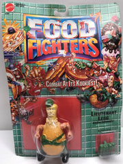 TAS038073 - 1988 Mattel Food Fighters - Lieutenant Legg Kitchen Commando!