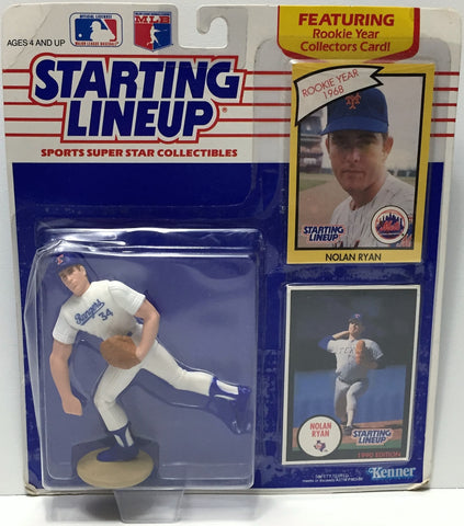 (TAS034802) - 1990 Hasbro Starting Lineup Figure - MLB Baseball Nolan Ryan, , Action Figure, Starting Lineup, The Angry Spider Vintage Toys & Collectibles Store  - 1