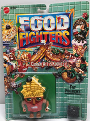 TAS038074 - 1988 Mattel Food Fighters - Fat Frenchy Refrigerator Reject!